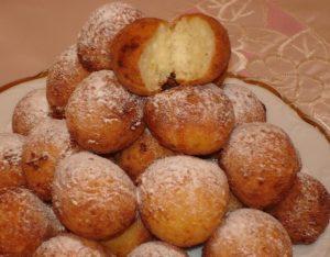 пышные пончики из творога