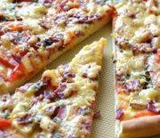 Рецепт пиццы в домашних условиях в духовке с фото каждого шага приготовления