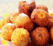 Творожные пончики с манкой жареные в масле — рецепт с фото и описанием шагов готовки