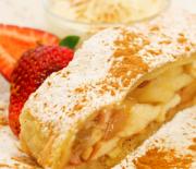 Штрудель с яблоком — самый вкусный рецепт с фото пошагово, рекомендации поваров