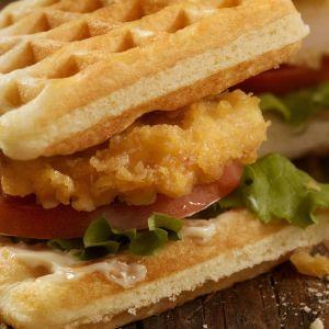 вафельный сэндвич