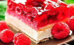 Торт: суфле с фруктами - рецепт