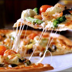 Подача пиццы