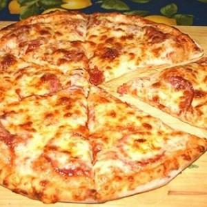 Тесто на кефире для пиццы