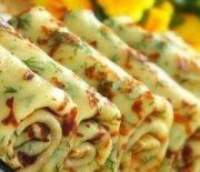 Делаем блины с сыром и зеленью — вкусно и полезно всем