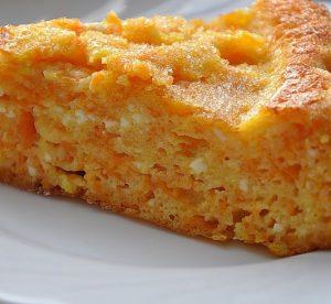 творожный кекс с морковью
