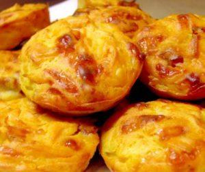 тыквенные кексы с сыром