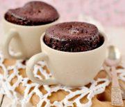 Моментальный рецепт кекса в чашке в микроволновке